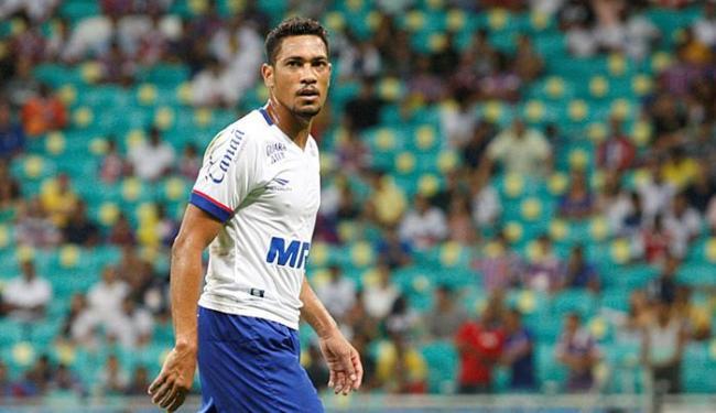 Hernane é um dos destaques do Bahia e deve disputar artilharia da Série B - Foto: Adilton Venegeroles   Ag. A TARDE