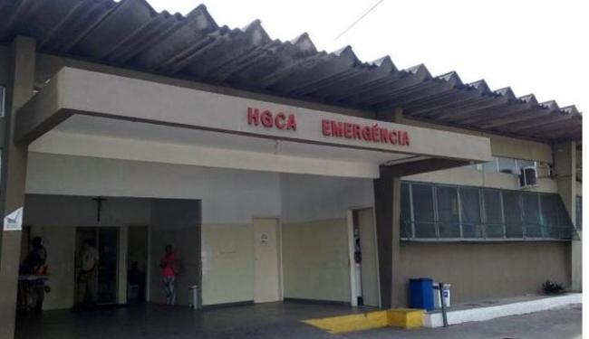 Vítima foi levada ao Hospital Geral Clériston Andrade, em Feira, e depois transferida para Salvador - Foto: Reprodução