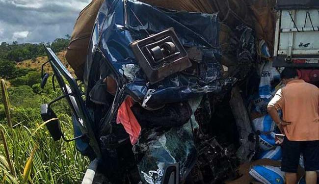 Os feridos do acidente foram levados para o Hospital em Itaberaba - Foto: Cidadão Repórter | Via Whatsapp