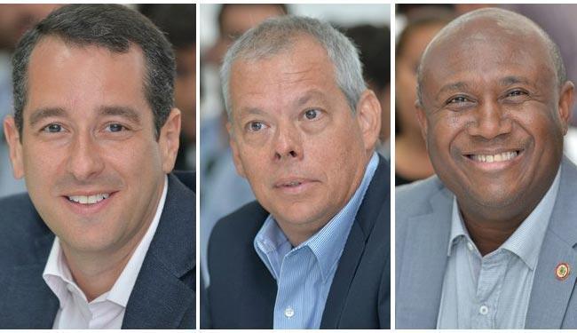 Da esquerda para a direita: Kaio Morais, Bernardo Araújo e Irmão Lázaro - Foto: Divulgação