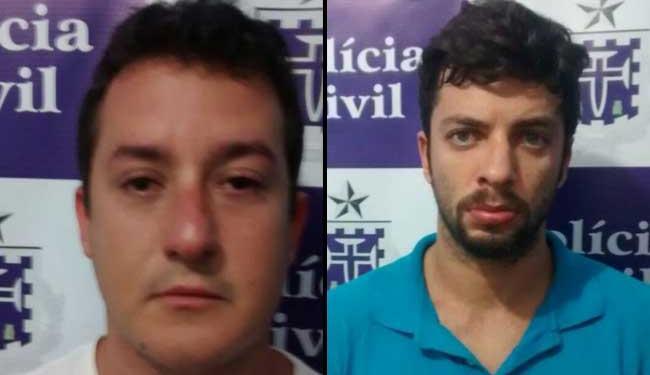 Empresário e engenheiro assumiram serem donos da plantação - Foto: Ascom | Polícia Civil