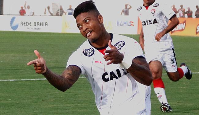 Marinho marcou três gols, mas Leão receberá time de Roraima em casa - Foto: Ivan Cruz l Ag. A TARDE 10.4.2016