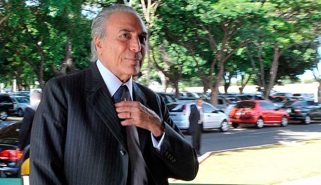 Sobre Temer, o empreiteiro teria afirmado que pagou propina a operadores que falavam em nome do vice - Foto: Antonio Cruz | Agência Brasil
