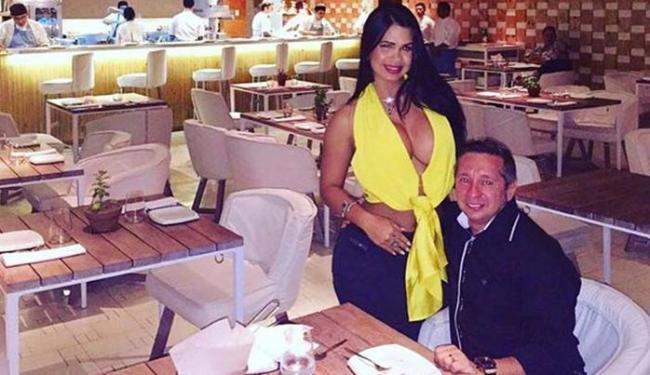 Milena postou foto ao lado do marido nesta terça - Foto: Reprodução | Instagram