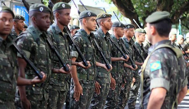 Dia Nacional do Exército Brasileiro é celebrado no dia 19 de abril - Foto: Joá Souza l AG. A TARDE
