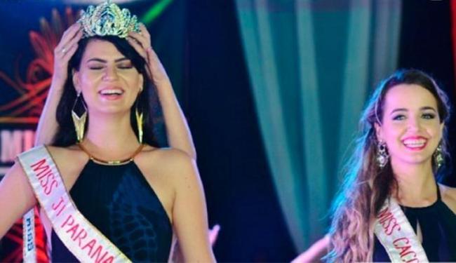 Letícia teve coroa retirada logo após ser coroada por engano - Foto: Reprodução | Facebook