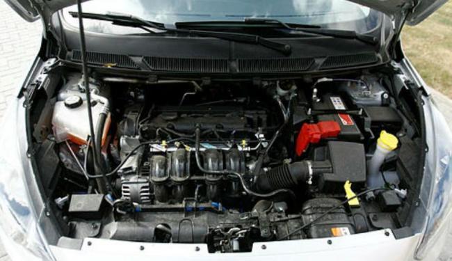 Hoje os motores de três cilindros são menores e possuem potência elevada - Foto: Divulgação