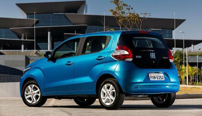 O novo compacto da Fiat chega ao mercado com o menos porta-malas entre os rivais - Foto: Divulgação