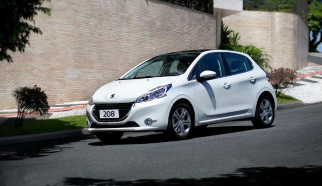 Novo Peugeot 208 tem motor de três cilindros. - Foto: Divulgação