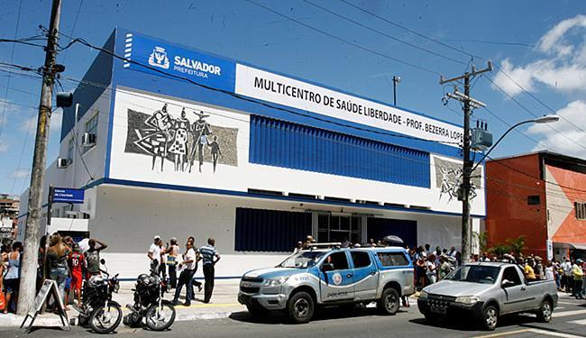 Posto médico está localizado na Rua Lima e Silva, próximo ao Plano Inclinado - Foto: Luciano da Matta l Ag. A TARDE