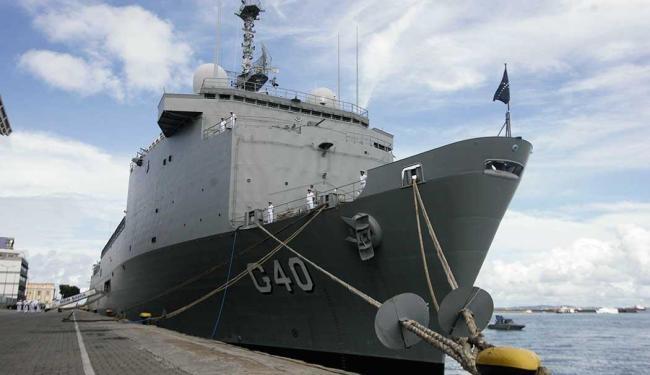 Embarcação está atracada no Porto de Salvador desde o último domingo - Foto: Edilson Lima | Ag. A TARDE