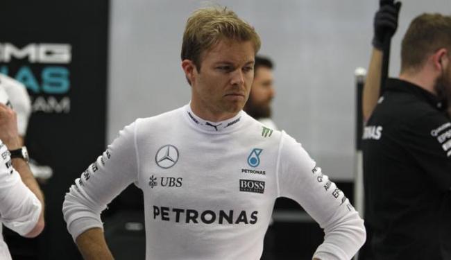 Nico abriu vantagem de 1s9 sobre o segundo colocado, Lewis Hamilton - Foto: Hamad I Mohammed | Ag. Reuters