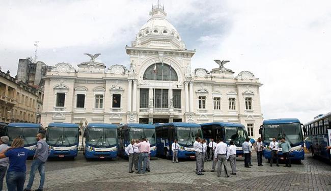 Apresentação dos veículos foi nesta quinta-feira, 14, na praça Thomé de Souza - Foto: Luciano da Matta l Ag. A TARDE