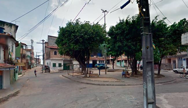 Crime ocorreu no Largo do Bariri, em Plataforma - Foto: Reprodução | Google Street View