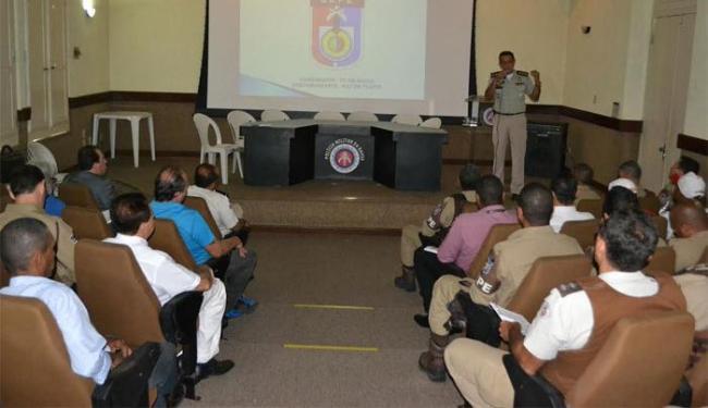 Policiamento acontecerá nas vias de acesso, na escolta de torcedores e nas estações de transbordo - Foto: Divulgação | Assessoria da PM