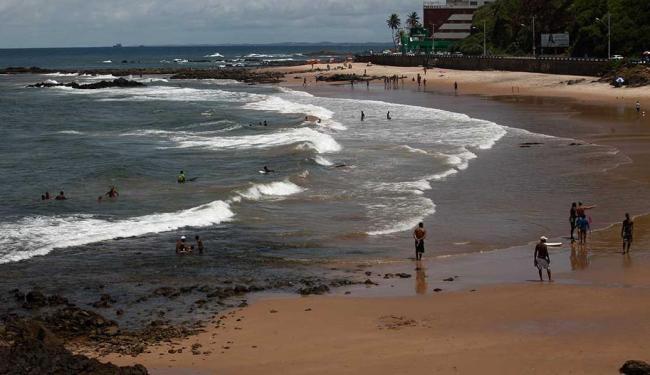 Praia da Paciência, no Rio Vermelho - Foto: Adilton Venegeroles | Ag. A TARDE