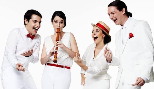 O Quinta Essentia Quarteto apresenta de hoje até domingo a Arte da Fuga de Bach - Foto: Divulgação