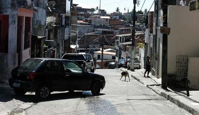 A Rua da Mangueira no bairro de Marechal Rondon local do confronto - Foto: Edilson Lima | Ag. A TARDE