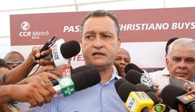 Rui foi à Brasília articular em favor da presidente - Foto: Adilton Venegeroles | Ag. A TARDE