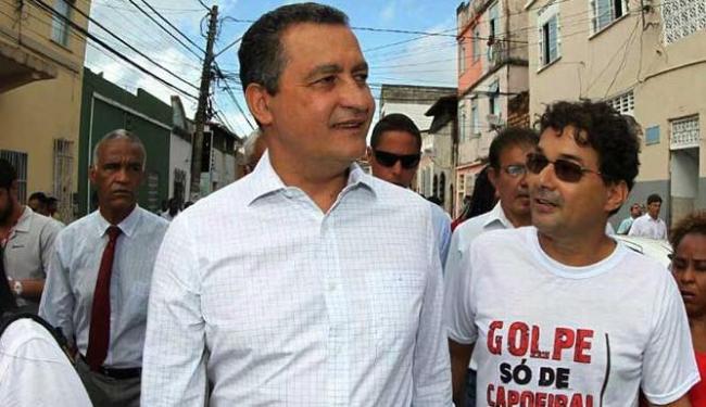 Governador visitou obras no centro antigo de Salvador - Foto: Mateus Pereira | GovBA