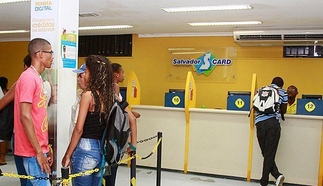 Estudantes registrados no SalvadorCard já podem se cadastrar no site da Nota Salvador - Foto: Edilson Lima | Ag. A TARDE