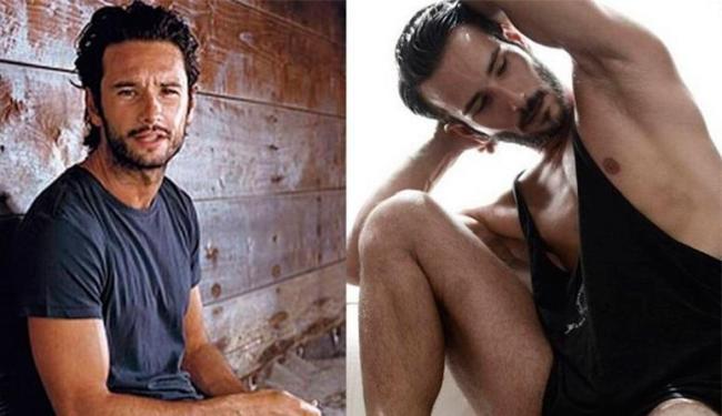 Rodrigo e Diego tem traços semelhantes, como olhos puxados, cor de pele e de cabelo - Foto: Reprodução