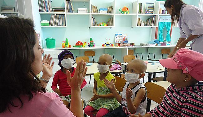 Hospital também presta atendimento a crianças com câncer - Foto: Leidiany Ferreira l Divulgação