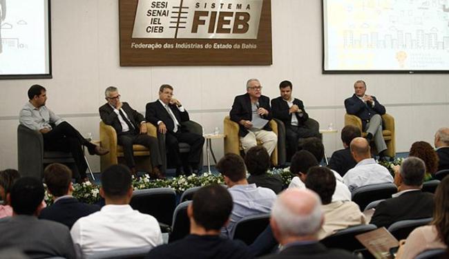 O 1º Seminário de Empresários Empreendedores da Bahia ocorreu na sede da Fieb - Foto: Luciano da Matta l Ag. A TARDE