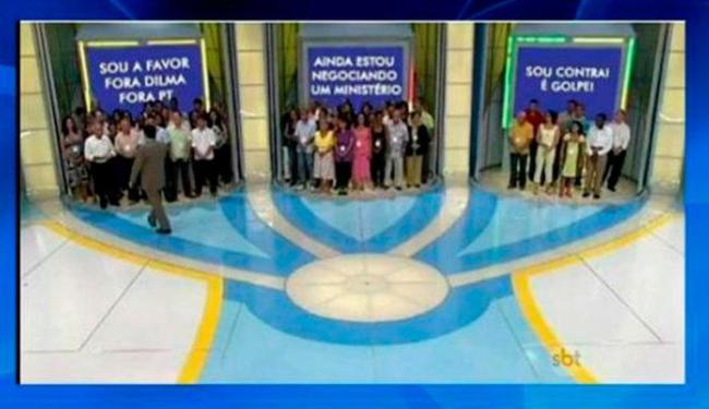 Silvio sugeriu que deputados utilizassem o modelo de portas do programa