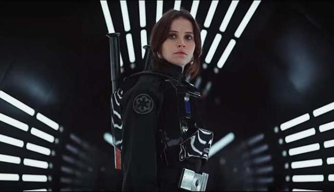 Felicity Jones protagoniza longa que se passa no mundo de Star Wars - Foto: Reprodução