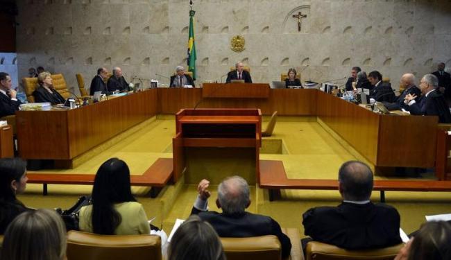 Plenário do STF em sessão extraordinária para analisar processos sobre rito do impeachment - Foto: Antonio Cruz   Agência Brasil