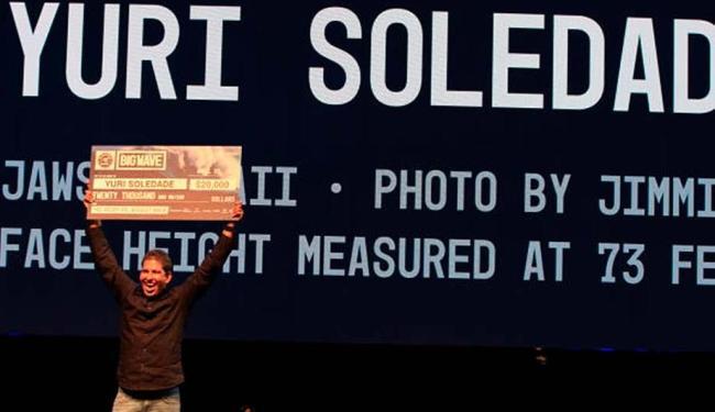 Yuri Soledade comemora a conquista do prêmio - Foto: Reprodução
