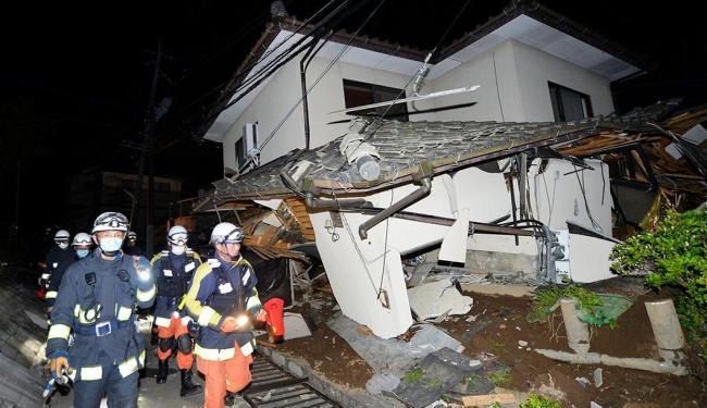 O tremor atingiu magnitude de 6,5 no sul do Japão - Foto: Reuters