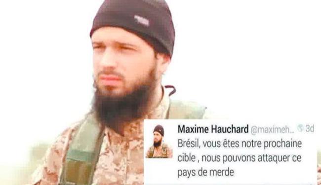A Abin confirmou a legitimidade da ameaça do terrorista Maxime Hauchard - Foto: Reprodução