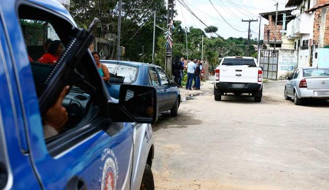 PM reforçou policiamento no local - Foto: Edilson Lima | Ag. A TARDE | Arquivo