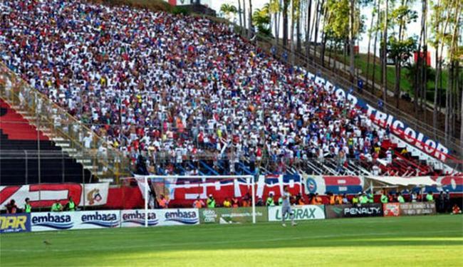 Como o Tricolor é visitante, tem direito a 3.500 bilhetes, o que corresponde a 10% das entradas disp - Foto: Divulgação l EC Bahia
