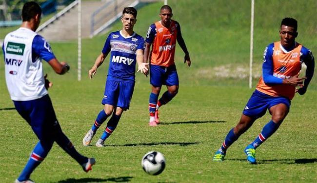 Bahia tem mais quatro dias de preparação, antes do clássico contra o Vitória neste domingo - Foto: Felipe Oliveira | E.C.Bahia | Divulgação