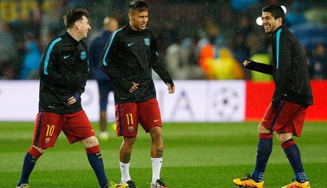 O trio pouco produziu na derrota de 2 a 1 para o Real Madrid, último sábado - Foto: Carl Recine Livepic | Ag. Reuters