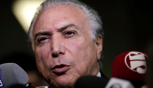 Ministro do STF entende que não cabe o pedido feito para a paralisação do processo contra Temer - Foto: Ueslei Marcelino | REUTERS