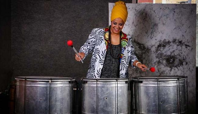 A cantora e pesquisadora Vércia é responsável pela iniciativa - Foto: Fernanda Maia | Divulgação