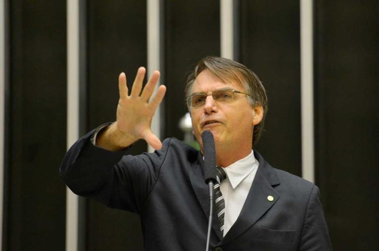 Bolsonaro foi acusado de racismo - Foto: Wilson Dias | Agência Brasil | Arquivo