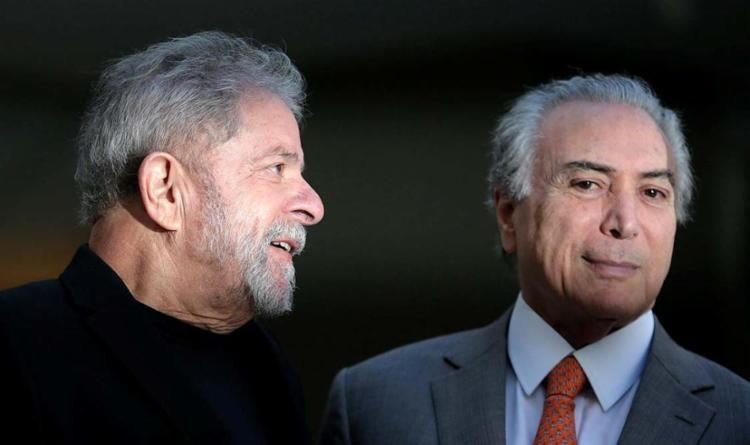 Discussão sobre foro privilegiado pode beneficiar Temer e Lula - Foto: Ueslei Marcelino | Agência Reuters