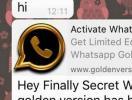 Cuidado com o golpe: WhatsApp Gold não existe - Foto: Reprodução
