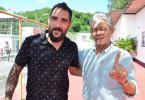 Meia Escudero visita o Barradão, mas evita imprensa - Foto: Francisco Galvão e Renan Rocha l Divulgação