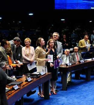 Senado aprova projeto que aumenta pena para crime de estupro coletivo - Foto: Jonas Pereira | Agência Senado