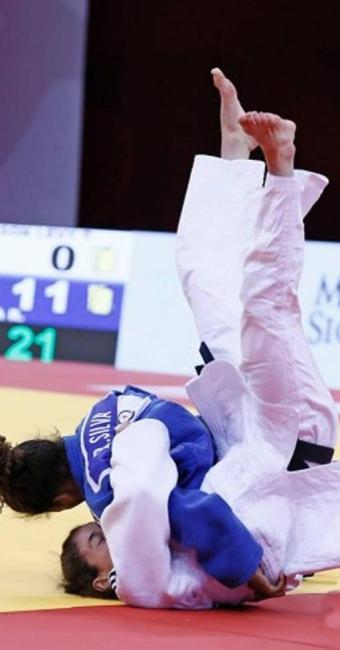 As judocas Rafaela Silva (57kg) e Érika Miranda (52kg) foram as representantes do Brasil nas disputa - Foto: Divulgação | CBJ