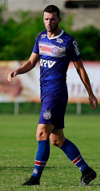 Poupado na última quarta-feira, o zagueiro Lucas Fonseca está de volta ao time titular - Foto: Felipe Oliveira l EC Bahia