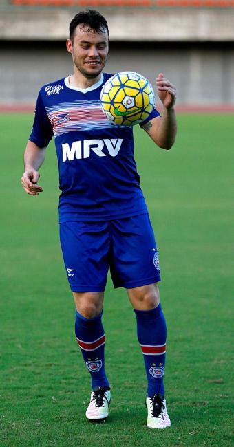 Renato Cajá vinha treinando há 20 dias, mas só foi regularizado nesta sexta-feira, 27 - Foto: Felipe Oliveira l EC Bahia