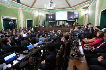 Câmara de Vereadores - Foto: Margarida Neide   Ag. A TARDE l 18.11.2015