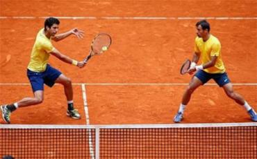 Melo fazia dupla com o croata Ivan Dodig - Foto: Arquivo l TenisBrasil